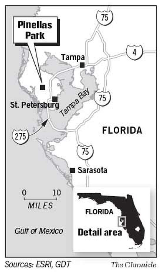 Pinellas Park. Chronicle Graphic