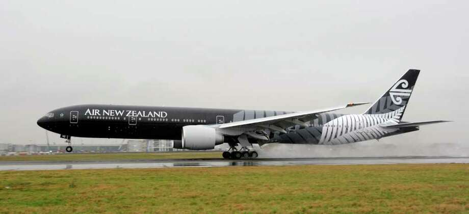 The top major Pacific carrier was Air New Zealand, at 87.76 percent on time. The other finalists were Jetstar Airways, Qantas Airways and Virgin Blue Airlines. Photo: AP / Air New Zealand