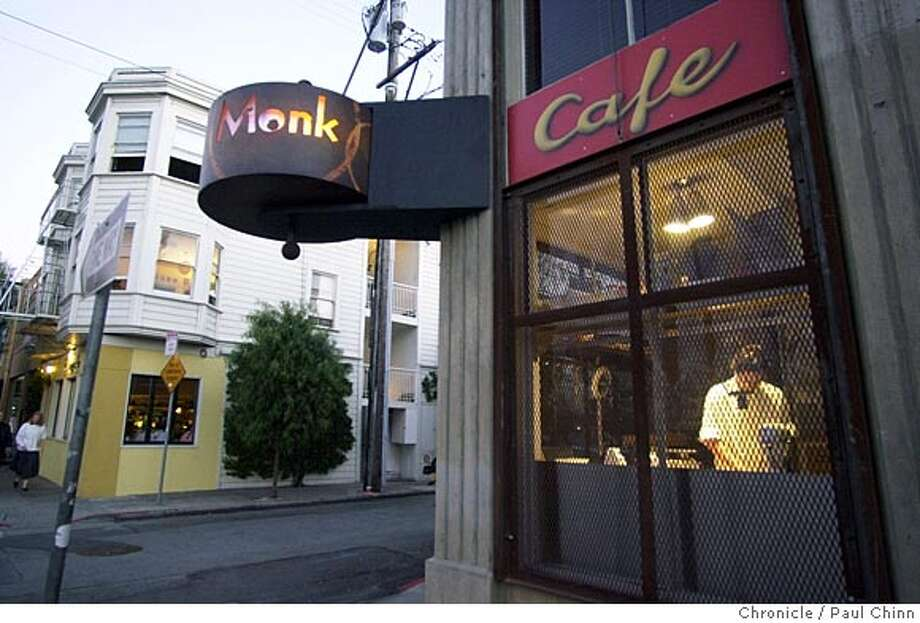 PIONEERP1C-C-10JUL01-FD-PC Cafe Monk is a relative newcomer to the South of Market restaurant scene. PAUL CHINN/S.F. CHRONICLE Photo: PAUL CHINN