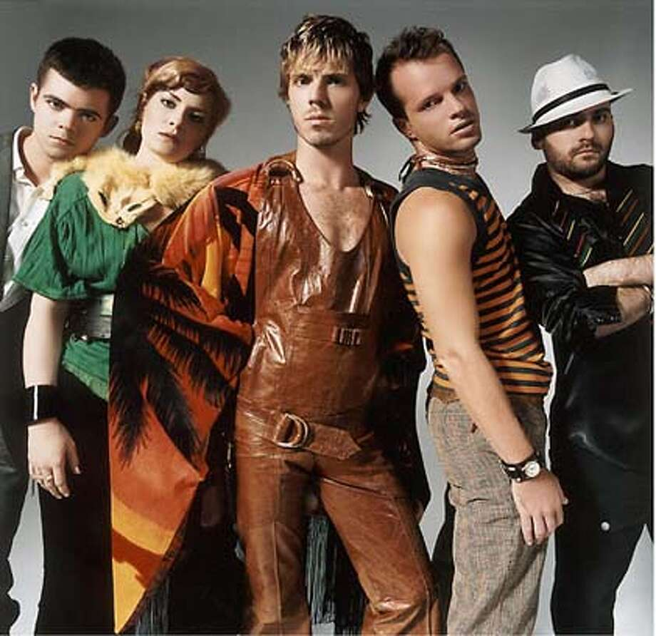The Scissor Sisters, who played the Fillmore, have an eye for fashion and an ear for bold music. Photo courtesy of Universal Music Group
