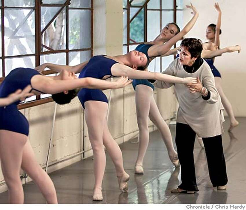 feijoos_ch_080.jpg Lupe Feijoo adjusts Emma Powers arm during class. Lupe Feijoo, Lorena�s mother, has moved here from Cuba. She teaches at the City Ballet School while Lorena Feijoo is a principle dancer with the San Francisco Ballet. in San Francisco 3/8/05 Chris Hardy / San Francisco Chronicle