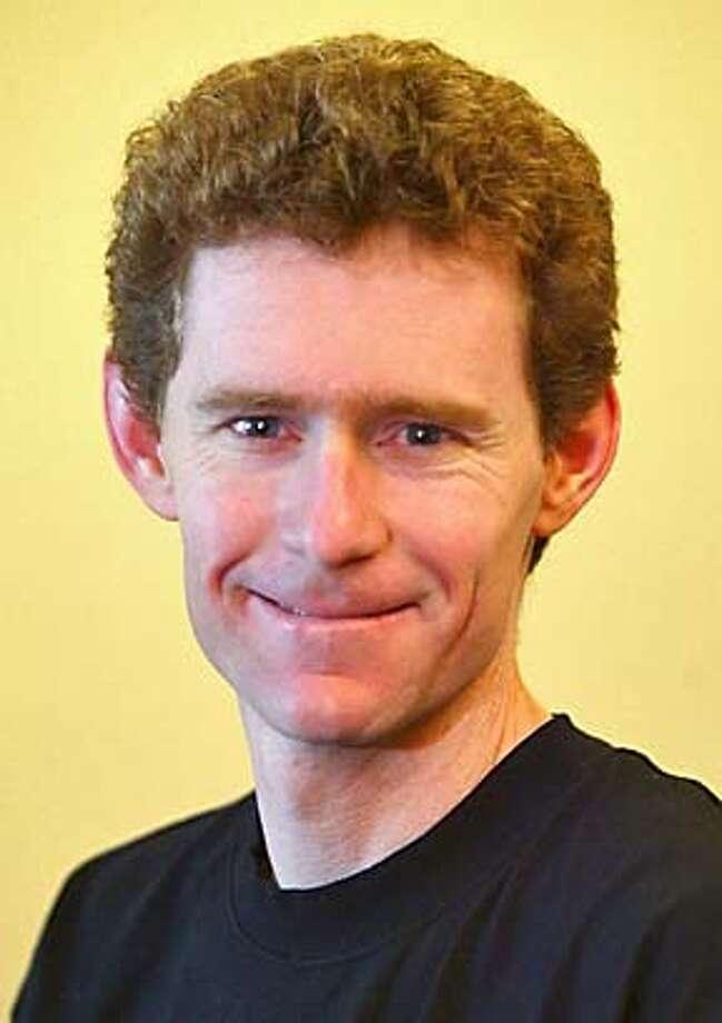 Joseph DeRisi, 35, Associate professor of biochemistry and biophysics, UCSF.  Chronicle photo by Deanne Fitzmaurice