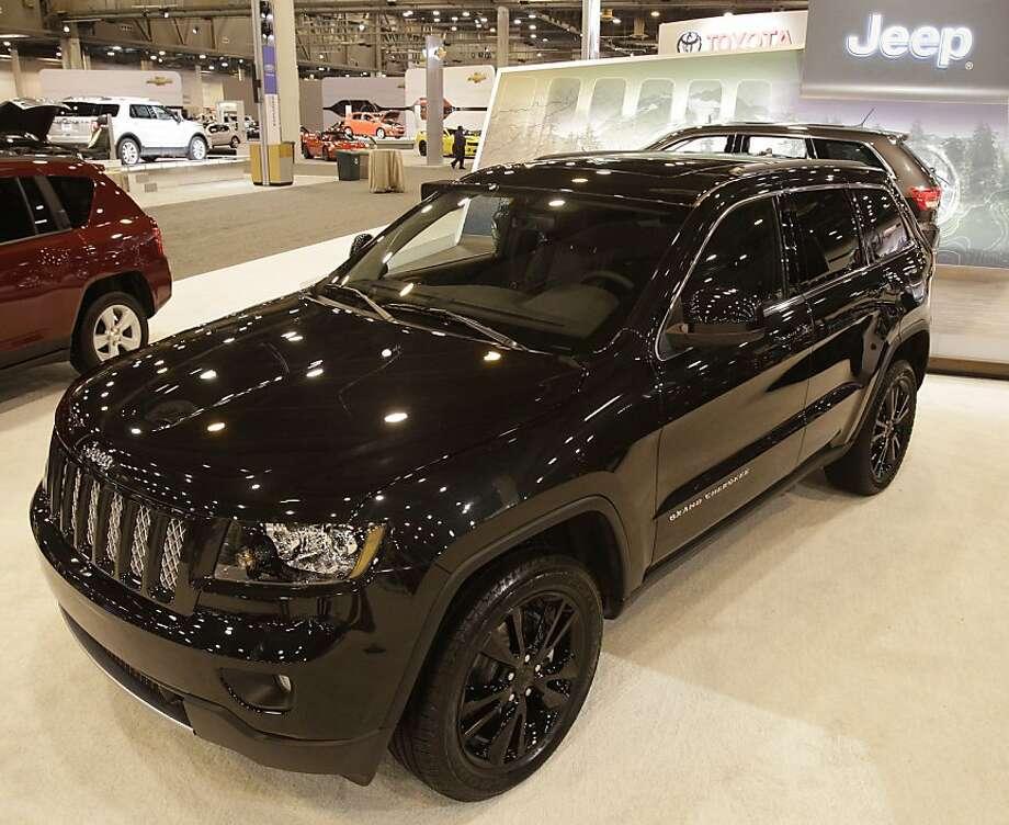 jeep grand cherokee concept makes u s debut in houston san antonio express news. Black Bedroom Furniture Sets. Home Design Ideas