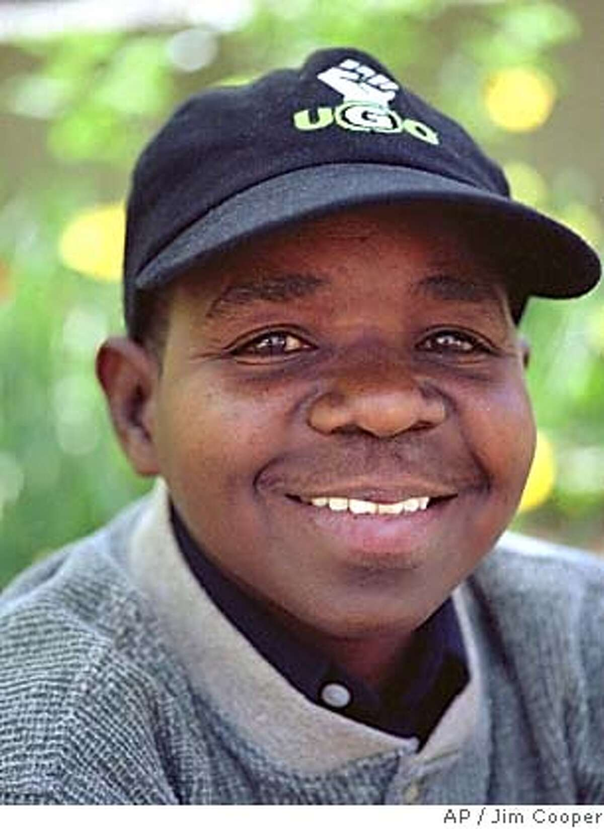 Gary Coleman poses in New York, April 30, 2001. The 33-year-old diminutive star of the '80s sitcom
