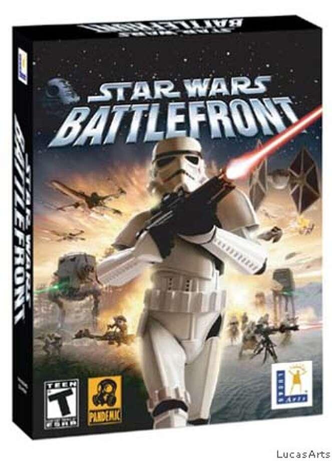 """Star Wars """"Battlefront"""" DVD cover."""
