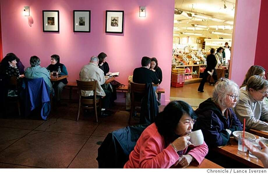EBLREST11_005.jpg_  Restaurant review: Tacubaya, busy nouveau Mexican place on Berkeley's Fourth Street. this is mainly a breakfast/lunch place. By Lance Iversen/San Francisco Chronicle Photo: Lance Iversen