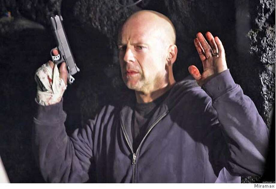 "Bruce Willis in ""Hostage,"" 2005 Ran on: 03-11-2005  Bruce Willis plays a hostage negotiator whose family is at risk in &quo;Hostage.&quo;"