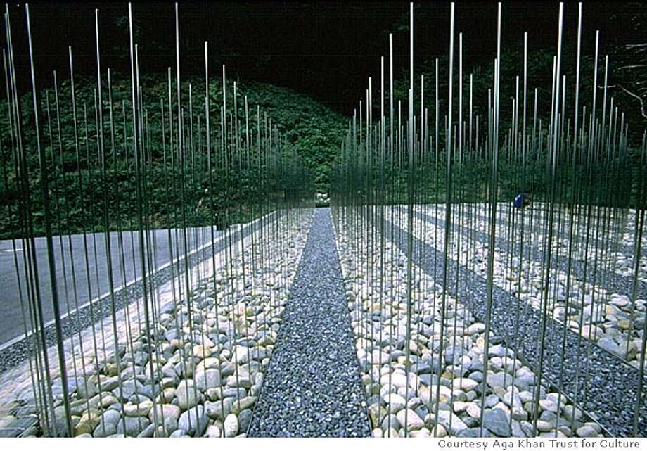 Cemetery for unknown victims of Hiroshima atomic blast victims. Courtesy Aga Khan Trust for Culture Photo: Courtesy Aga Khan Trust For Cult