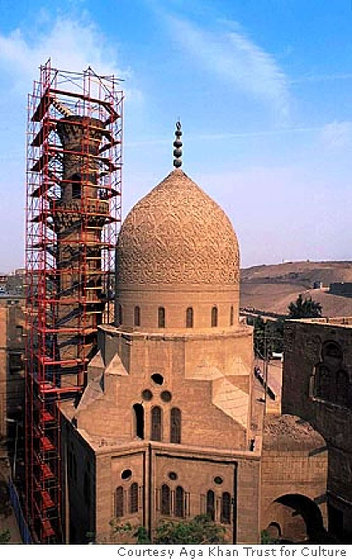 Mosque in Cairo Courtesy Aga Khan Trust for Culture