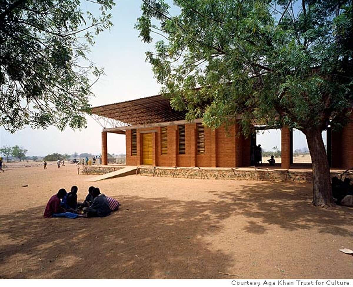 A School in Africa. Courtesy Aga Khan Trust for Culture