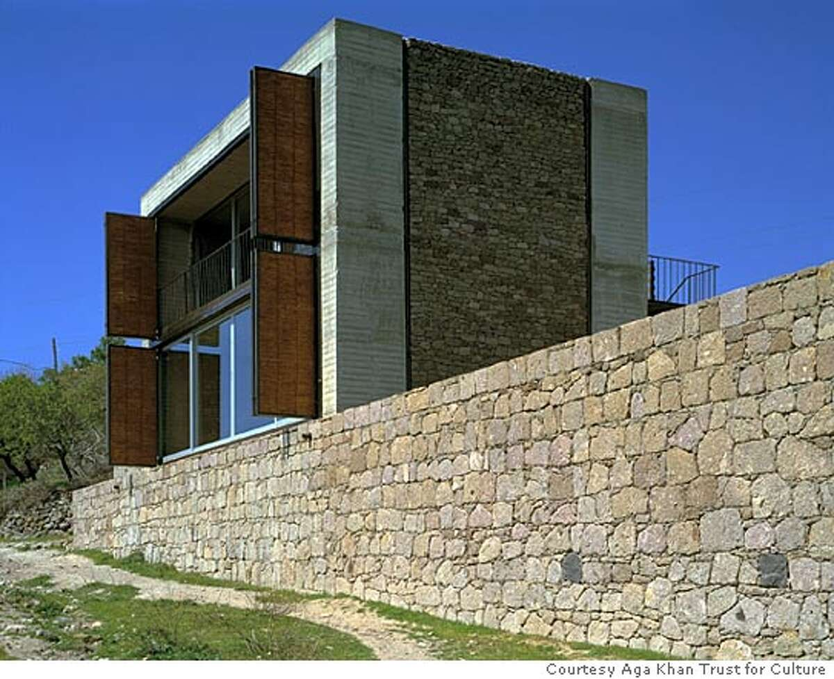 House using indigenous materials, located in Turkey. Courtesy Aga Khan Trust for Culture