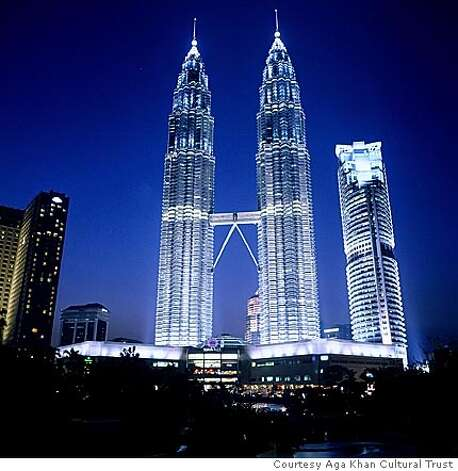 Petronas office towers Courtesy Aga Khan Cultural Trust Photo: Courtesy Aga Khan Cultural Trust