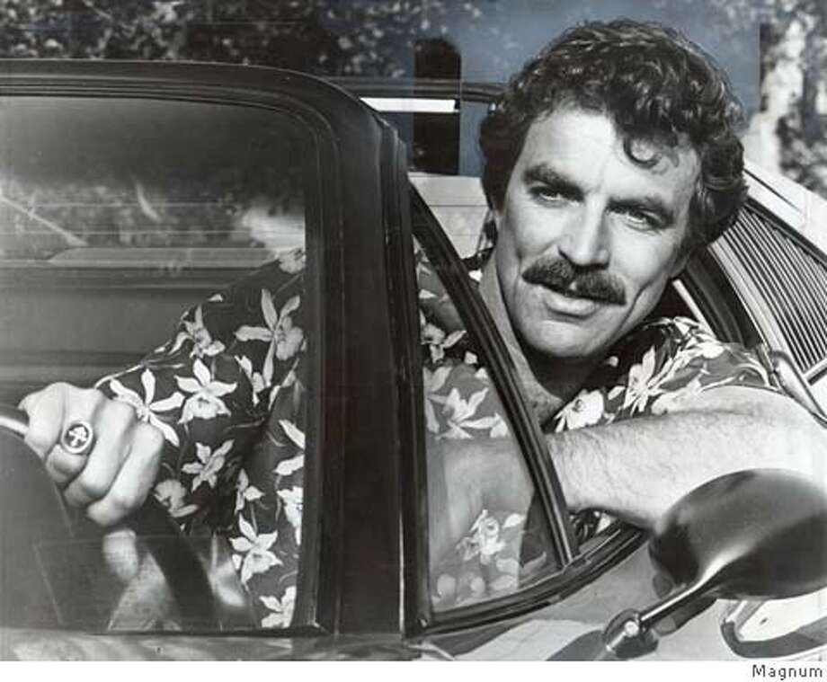 """Tom Selleck plays """"Magnum:"""" in the new hit series from CBS...a gift from the Gods for an actor who has known lean times."""