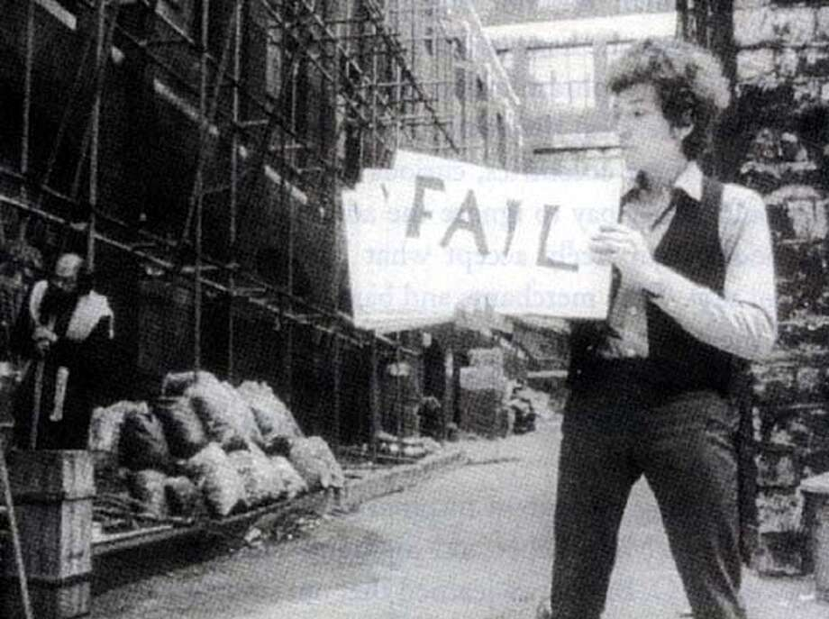 "Bob Dylan in ""Don't Look Back"""