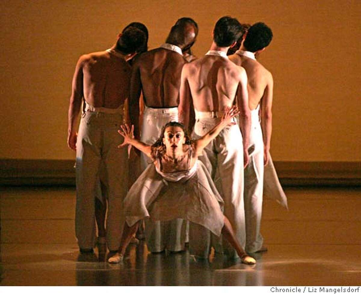 Event on 3/2/05 in San Francisco. The ODC Dance's 34th annual spring season dress rehearsal perform