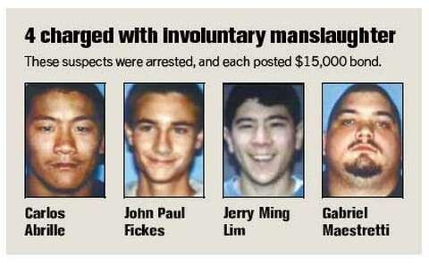 Horrifying details in hazing death / Police arrest 5