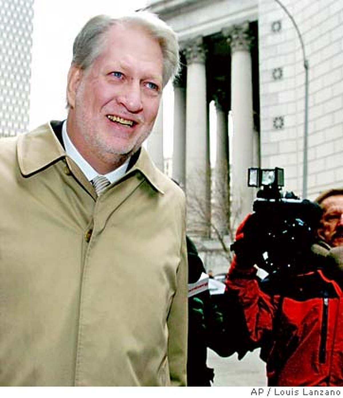Bernard Ebbers, former CEO of WorldCom, enters Manhattan federal court, Monday, Feb. 28, 2005, in New York. Ebbers is expected to take the stand today accused of orchestrating an $11billion accounting scandal which bankrupted the once giant telecommunications company. (AP Photo/ Louis Lanzano)
