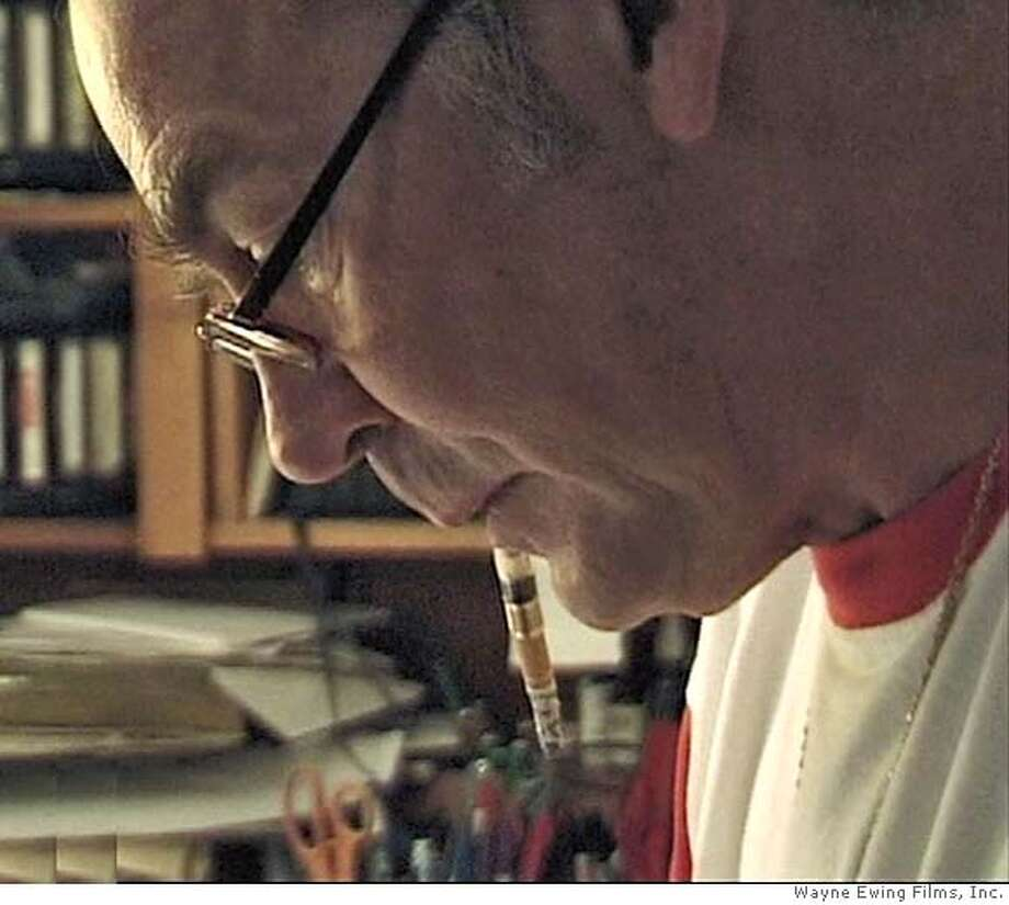 "Screen capture photo of Dr. Hunter S. Thompson in the documentary ""Breakfast with Hunter."" Photo credit: Wayne Ewing Films, Inc. Photo: Wayne Ewing Films, Inc."