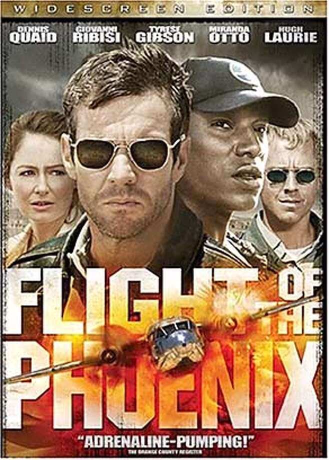 "DVD cover art for, ""Flight of the Phoenix"" DVD."