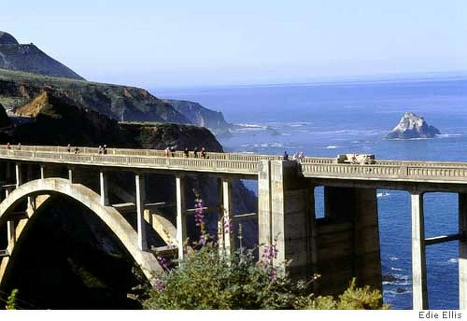 ee13.jpg Bixby Bridge on Hwy. 1, south of Carmel  9/2/04 in Carmel. Edie Ellis / Big Sur International Marathon Photo: Edie Ellis