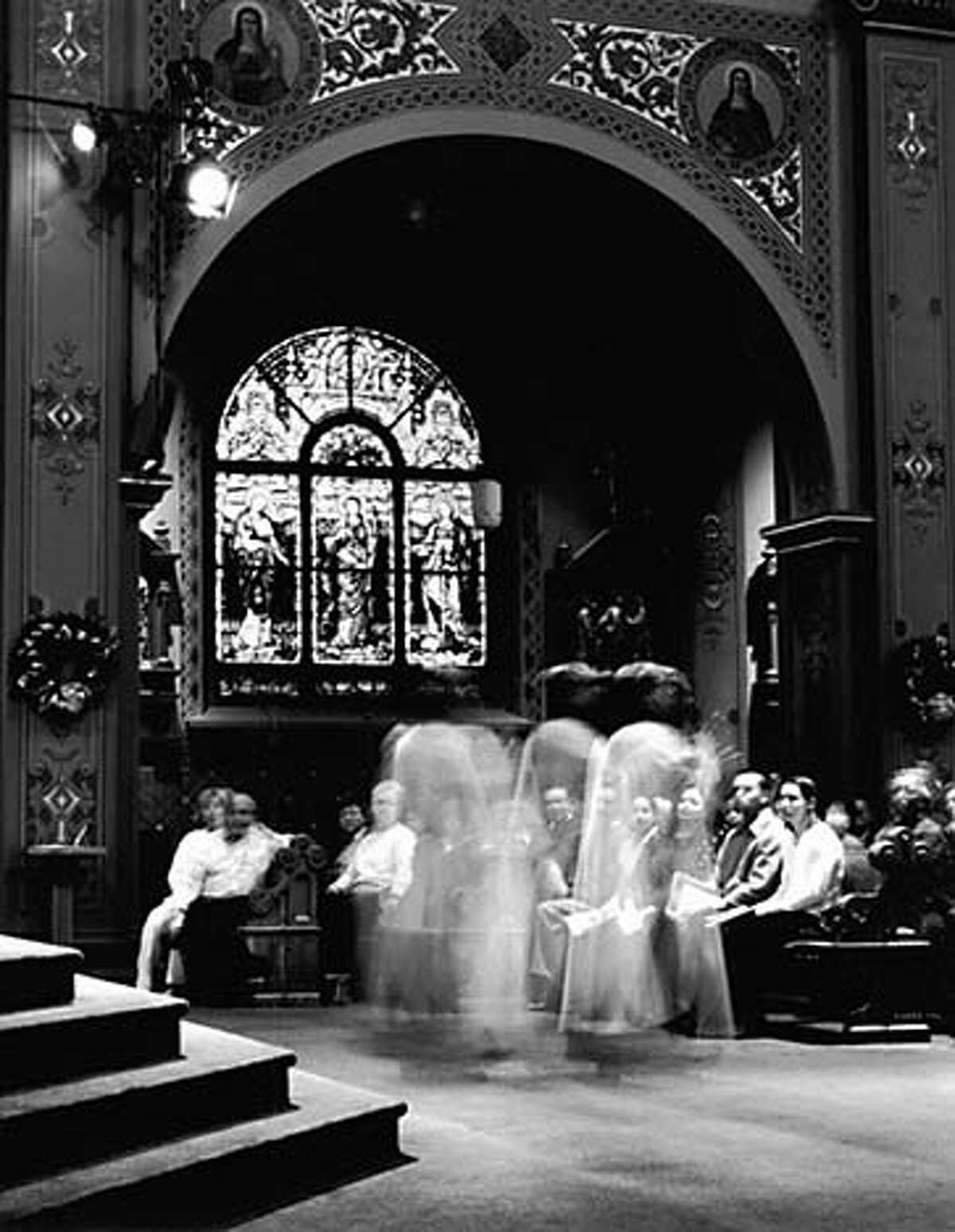 """""""Cathedral"""" by Pete Eckert, a legally blind photographer"""