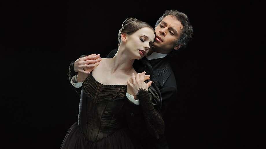 San Francisco Ballet's Maria Kochetkova and Vitor Luiz in John Cranko's Eugene Onegin. Photo: Maria Kochetkova And Vitor Luiz
