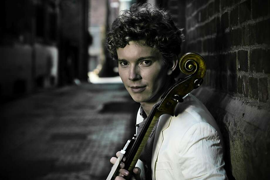 Cellist Joshua Roman, a member of the YouTube Symphony, performs with the San Francisco Symphony Photo: Jeremy Sawatzky, Courtesy SF Symphony