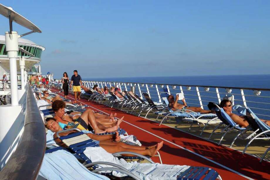 Days at sea can be relaxing, even if you're an energetic independent traveler. Photo: Patricia Feaster, Ricksteves.com
