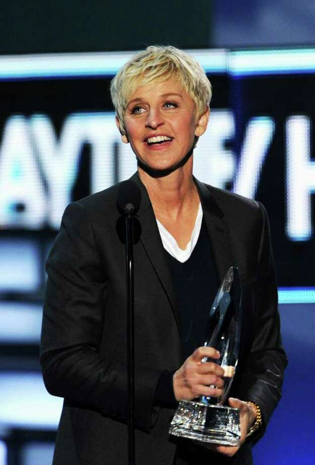 47. TV personality Ellen DeGeneres  Photo: Kevin Winter / 2012 Getty Images