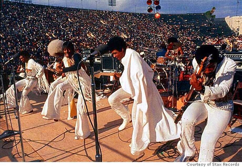 The Bar-Kays at Wattstax in 1972.