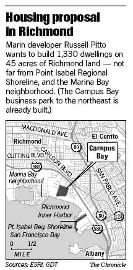 Housing Proposal in Richmond. Chronicle Graphic