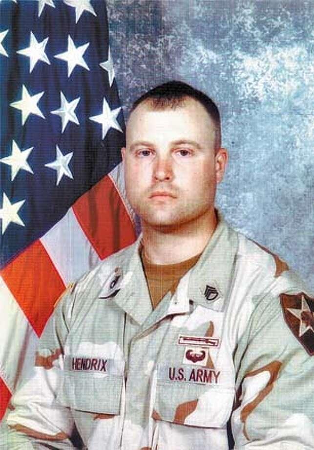 Army Sgt. Jason Hendrix, 28, grew up in Watsonville.