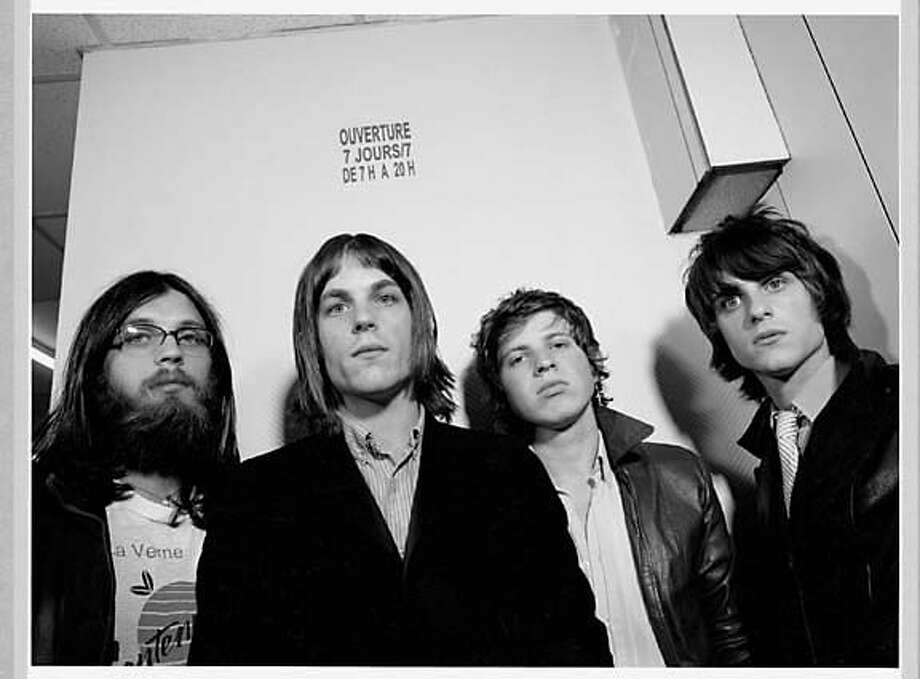 Photo of band, Kings of Leon. Ran on: 01-28-2005 Photo: Jo McCaughey