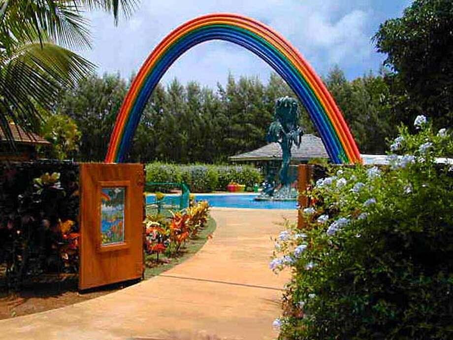The new childrens' garden at Na 'Aina Kai Botanical Gardens on Kauai, HI Courtesy of Na 'Aina Kai