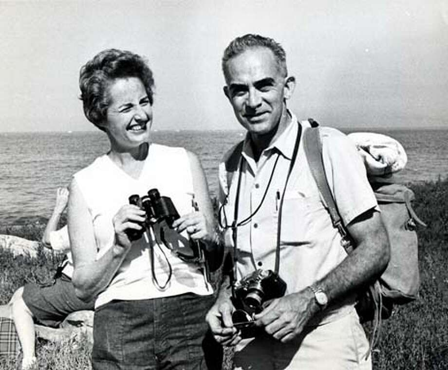 William and Mrs. Siri in 1965  Chronicle File Photo by Duke Downey 1965.