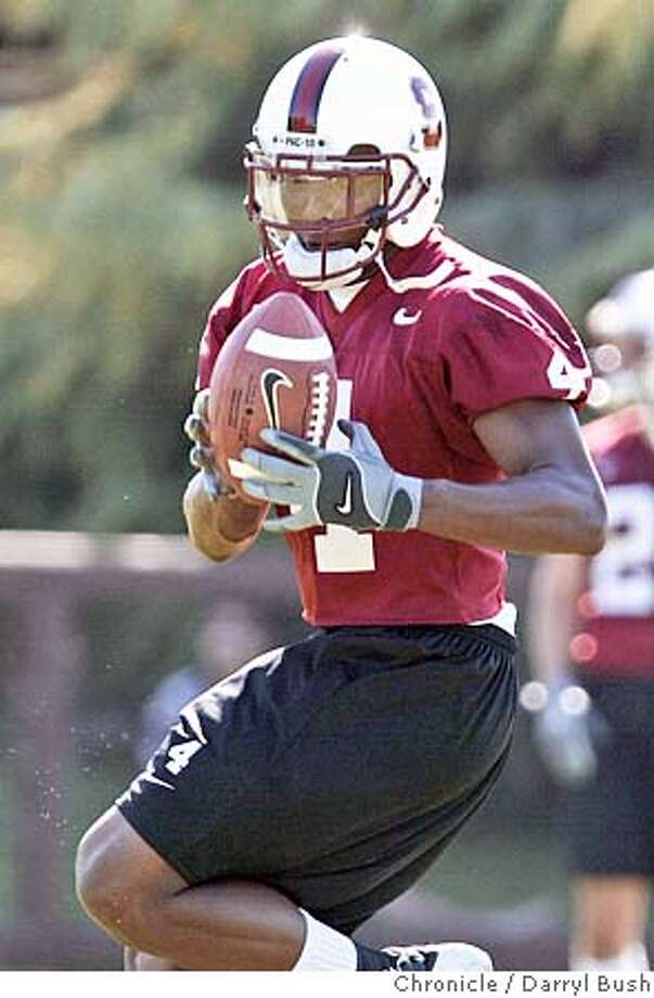 Stanford football practice. 8/11/04 in Stanford  Darryl Bush / The Chronicle Photo: Darryl Bush