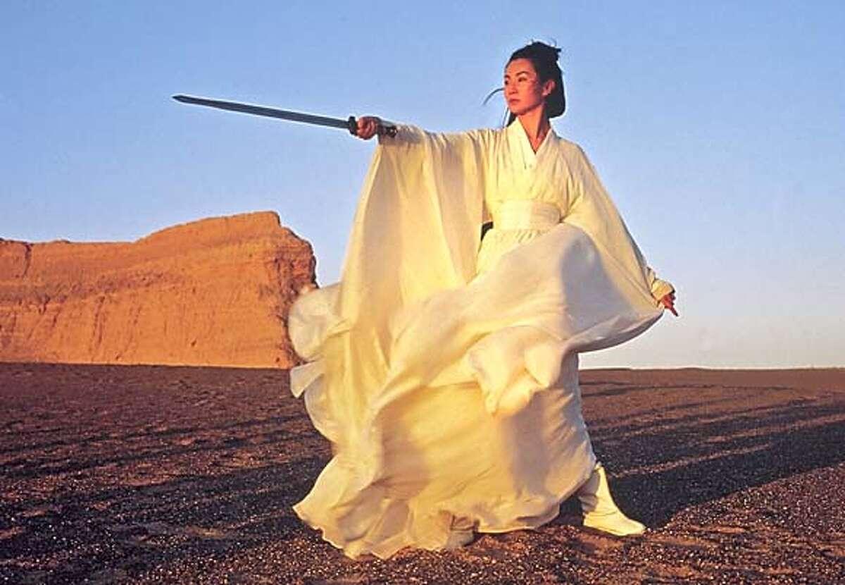 HERO27_003.JPG Maggie Cheung Man Yuk as SNOW in Zhang Yimou�s HERO. / MIRAMAX FILMS