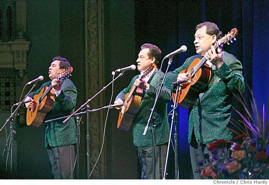 lospanchos15_ch_063.jpg  Los Panchos, Mexican mariachi band, at the Brava theater. in San Francisco  2/13/05 Chris Hardy / San Francisco Chronicle Photo: Chris Hardy