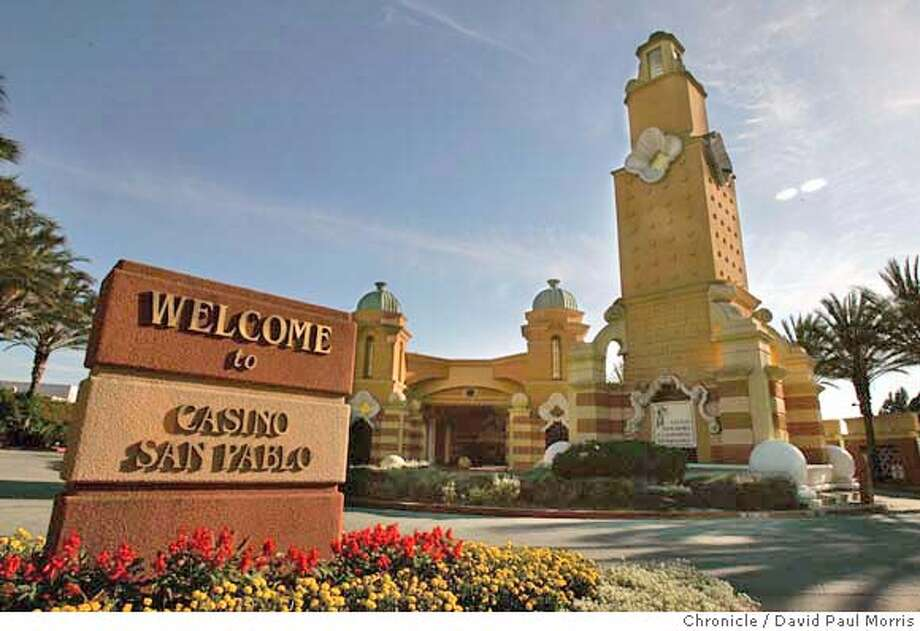 San Pablo, CA- AUGUST 20: The Casino San Pablo sign located off San Pablo Dam Road in San Pablo, California on August 20, 2004. (Photo by David Paul Morris/ The Chronicle) Photo: David Paul Morris