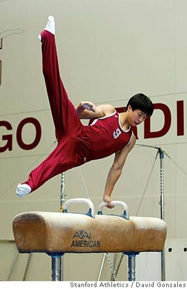 Sho Nakamori is a gymnast at Stanford and has trained with the junior national team. Photo by David Gonzales/Stanford Athletics Photo: David Gonzales/Stanford Athletic