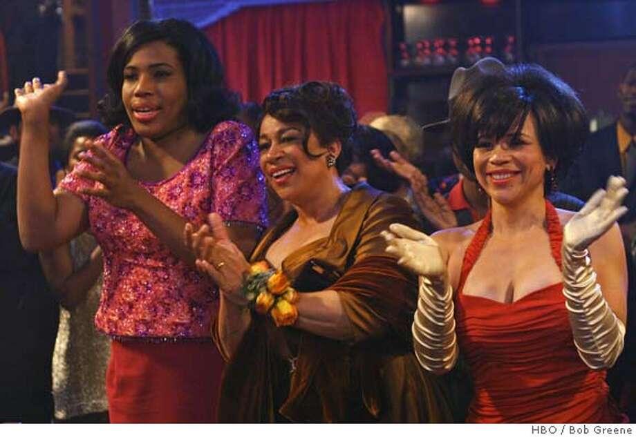 LAKAWANNA11 Macy Gray, S. Epatha Merkerson, Rosie Perez. photo: Bob Greene/HBO