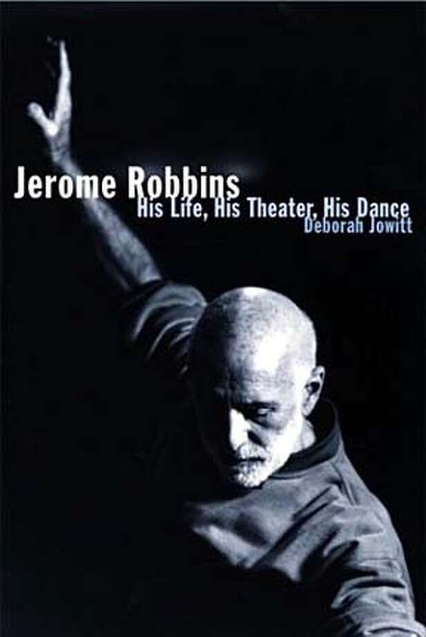 EDREC22b.JPG Book cover of JEROME ROBBINS HIS LIFE, HIS THEATER, HIS DANCE by Deborah Jowitt HANDOUT BookReview#BookReview#Chronicle#08-22-2004#ALL#Advance#M2#0422268344