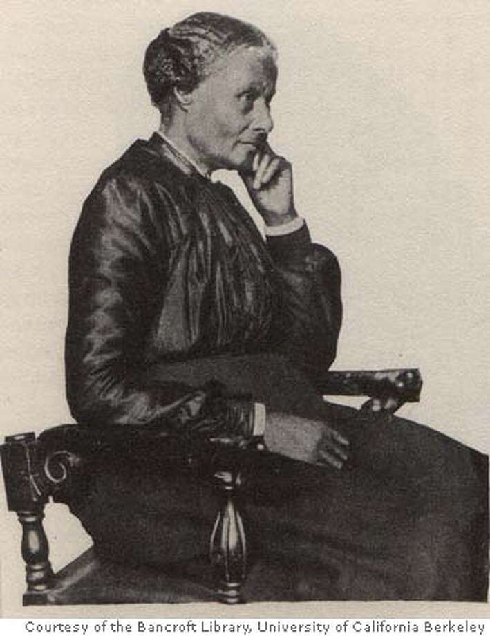 """Mary Ellen Pleasant at eighty-seven years of age. This photograph accompanied her 1902 autobiography printed in the """"Pandex of the Press.""""  Photo: Courtesy of the Bancroft Library, University of California Berkeley. Photo: Courtesy Of The Bancroft Library"""