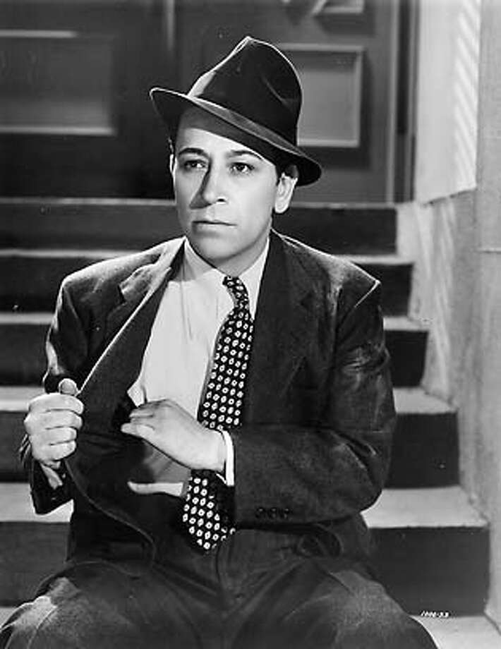 George Raft turned down the Sam Spade role. Chronicle File Photo