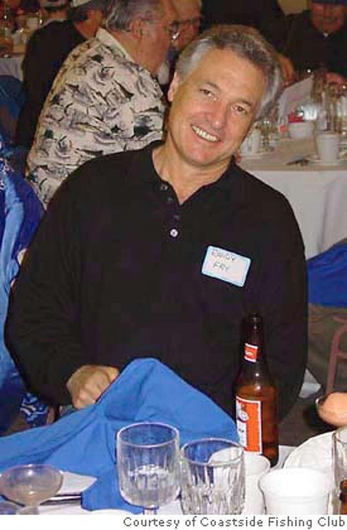 Randall Fry was killled by a shark on Mendocino Coast. Photo Courtesy of Coastside Fishing Club.