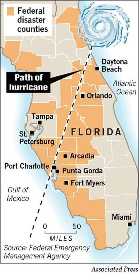 Federal Disaster Counties. Associated Press Graphic Photo: Todd Trumbull