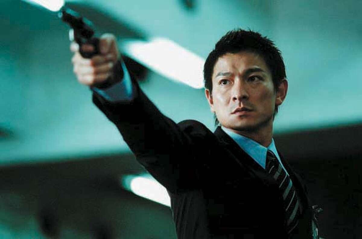 Film still of Andy Lau in