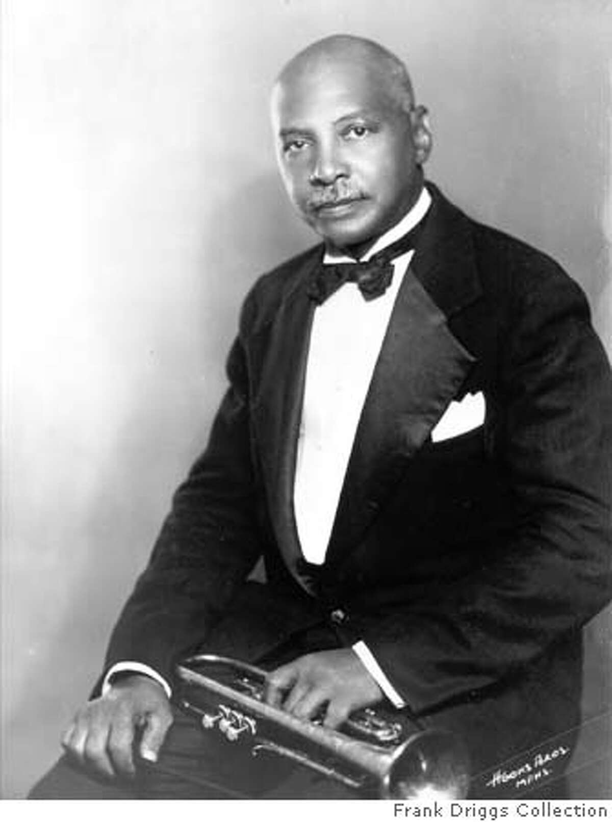 For BLUES21, datebook ; THE BLUES� �Warming by the Devil�s Fire� ; In 1903, composer W.C. Handy (pictured) stumbled upon �the strangest music [he] had ever heard� while waiting for a train in Tutwiler, Mississippi. Handy has since been named �Father of the Blues�; in recognition of the centennial of his discovery, Congress declared 2003 the YEAR OF THE BLUES. Photo: Frank Driggs Collection (10/1/03, 9:00 p.m. ET, 2 hours) ; on 6/13/03 in . Frank Driggs Collection / Frank Driggs Collection