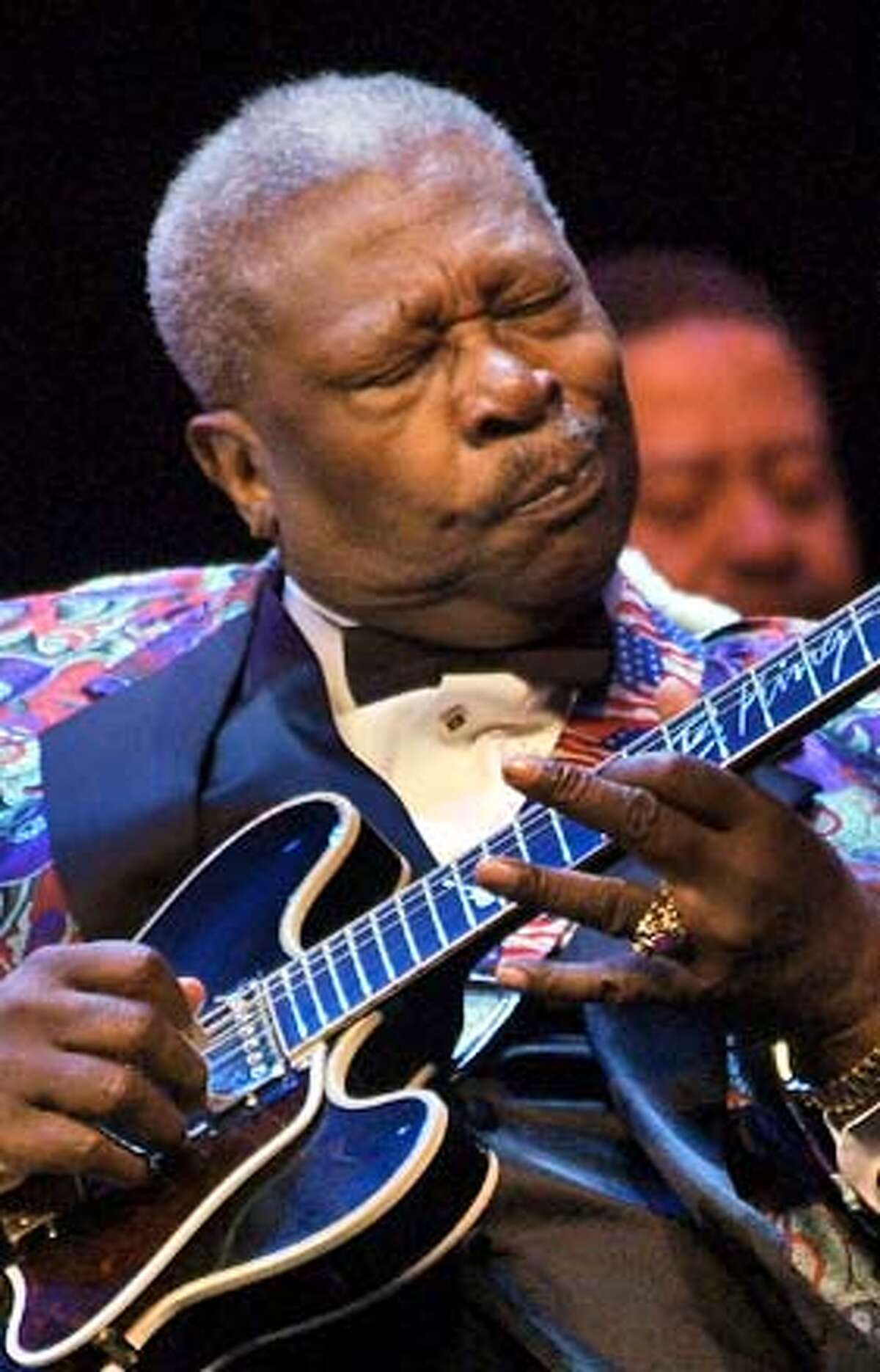 American bluesman B.B. King performs at his concert in the Kremlin in Moscow, Tuesday, May 18, 2004. (AP Photo ) Peter Rowan will perform at the Great American Music Hall on June 22. Peter Rowan will perform at the Great American Music Hall on June 22. Ran on: 08-15-2004 Photo caption