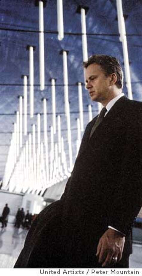 "Tim Robbins stars as William, an insurance investigator,in the futuristic drama ""Code 46."" (United Artists / Peter Mountain) Photo: PETER MOUNTAIN"